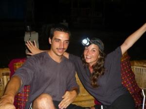 Emeline and her boyfriend