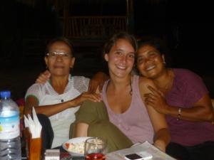 Guria, Suhaini and Lina in Gili Air