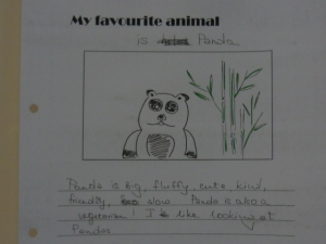 This is (I'm not sure who's) favourite animal and story from our Young Learners lesson at I/A/L/F Bali
