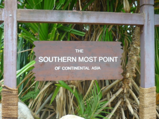 Southernmost Tip of Continental Asia