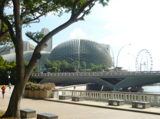 Cultural centre - the Esplanade - in Singapore