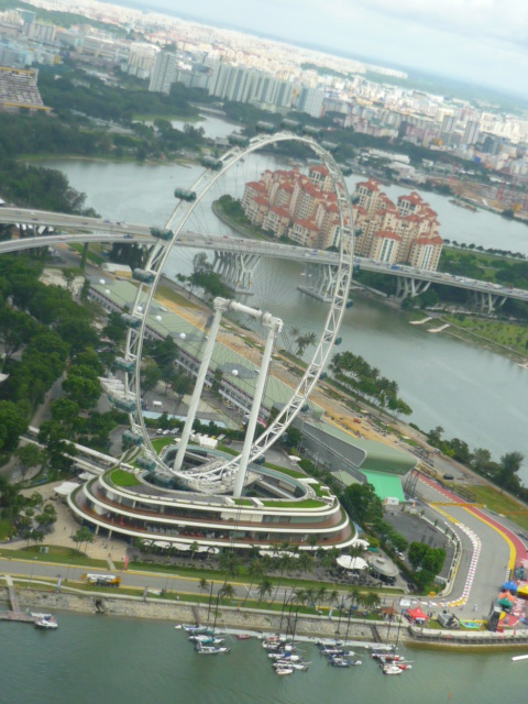 World's Tallest Ferris Wheel - The Singapore Flyer - in ....well, Singapore