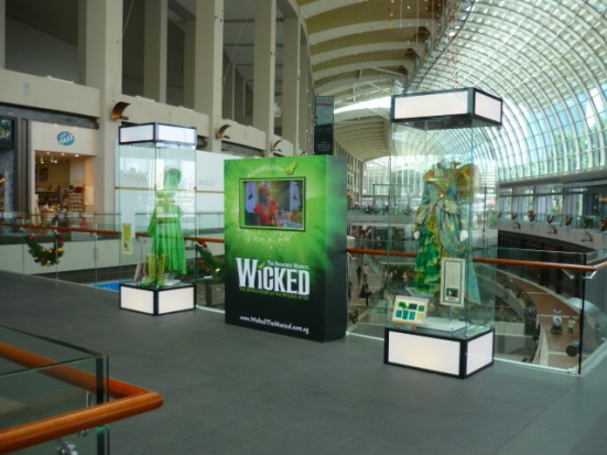 Wicked - the famous Broadway and London musical - now playing in Singapore