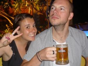 Kylie and Stuart's 1st best Poser Pose in Krazy Kuta, Bali