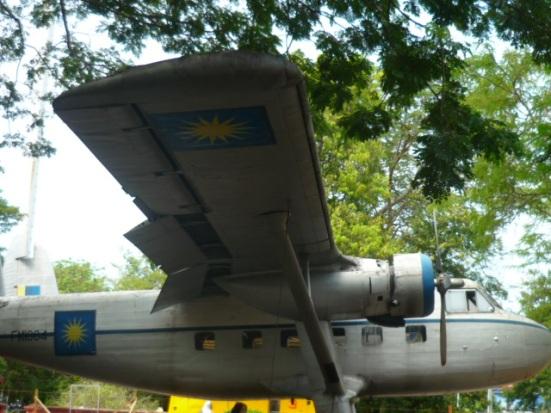 Random fighter plane in Malacca, Malaysia