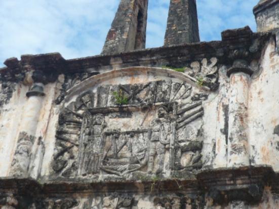 Tombs near A Famosa in Malacca, Malaysia