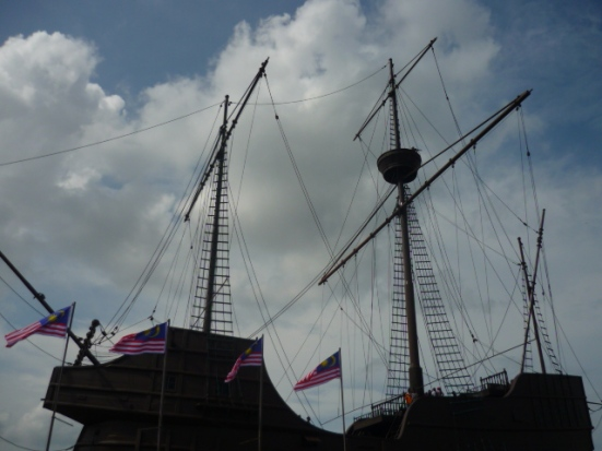 The Naval Maritime Museum in Malacca, Malaysia