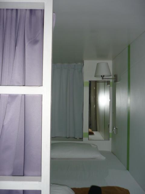 Dorm bed in Reggae Mansions, Kuala Lumpur, Malaysia