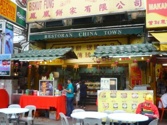 Restaurant in Chinatown, Kuala Lumpur, Malaysia