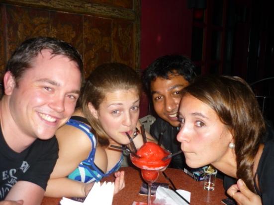 Night out with Jude, Pippa, Matt, Ryan and Fibi in Kuala Lumpur, Malaysia