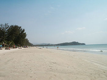 Beach in Koh Lanta, Thailand