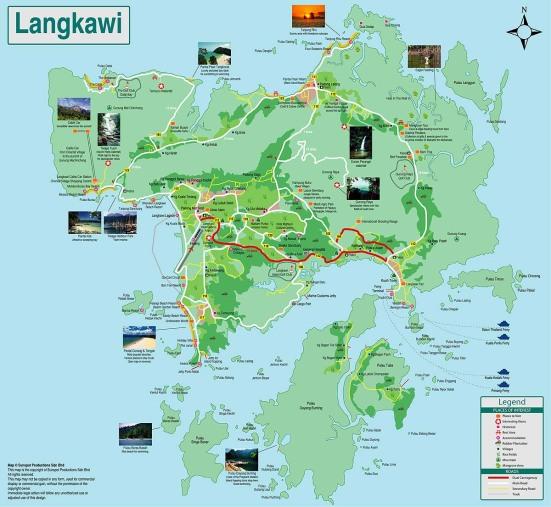 Langkawi, Malaysia (map 2)