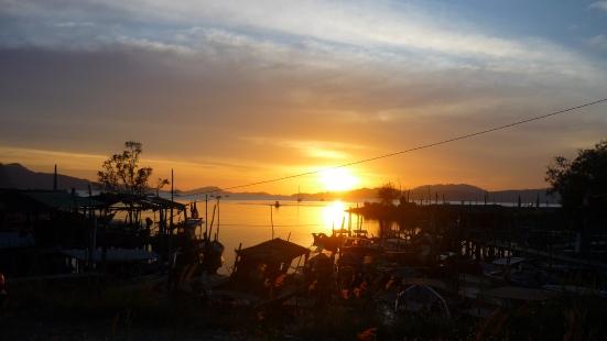 Beautiful sunset in Langkawi, Malaysia