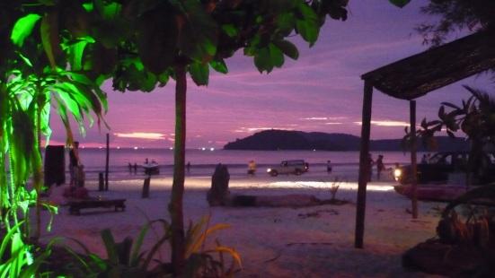 Sunset at Babylon Bar, Pentai Cenang, Langkawi, Malaysia