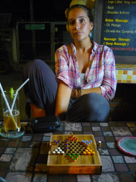 Lina and Chinese checkers