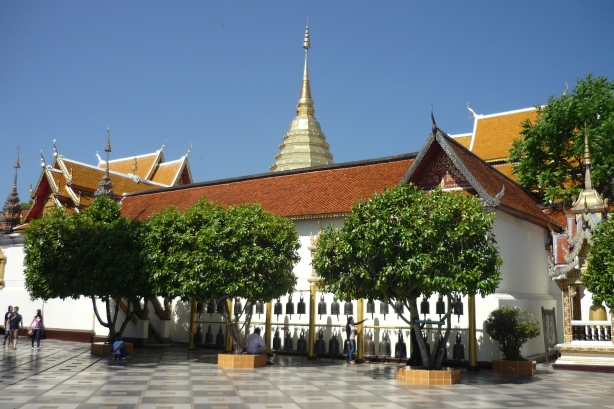 Alternative view of Doi Suthep in Chiang Mai, Thailand