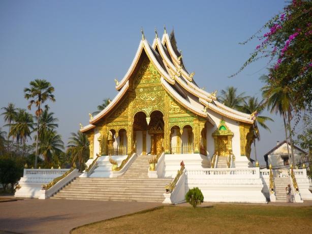 Lanna temple, Luang Prabang, Laos
