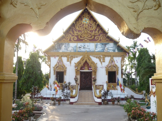 Buddhist Temple in Pakse, Laos