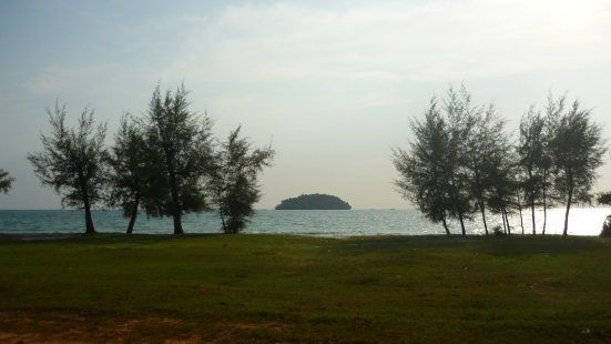 Unspoilt beach right off the charming Otres Beach in Sihanoukville, Cambodia