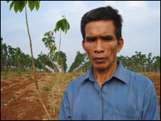 Ramon Fil from the Jarai people in Cambodia (Source: Ho Mai (Source: http://news.bbc.co.uk/2/hi/8144130.stm)