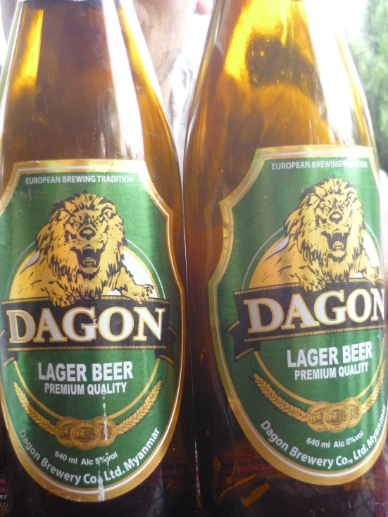 Dagon Beer from Myanmar