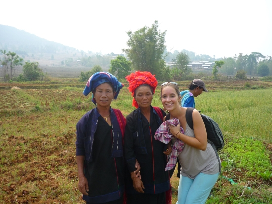An encounter with two toothless women from the Pao tribe near Myanmar's Shan State during our 3 day trek to Inle Lake from Kalaw