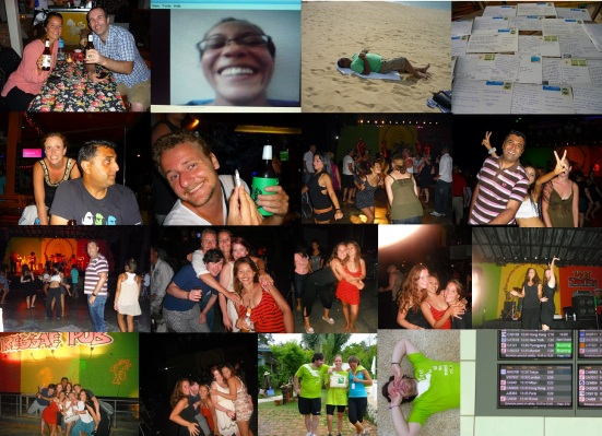 Fun and Friends in Koh Samui, Thailand. The Grand Finalé, the perfect way to end 8 months of travelling.